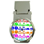 Download Upload Web Icon Internet Money Clip Watches Front