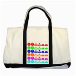 Download Upload Web Icon Internet Two Tone Tote Bag Front