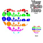Download Upload Web Icon Internet Playing Cards 54 (Heart)  Front - SpadeK
