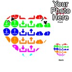 Download Upload Web Icon Internet Playing Cards 54 (Heart)  Front - Club7