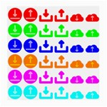 Download Upload Web Icon Internet Medium Glasses Cloth Front
