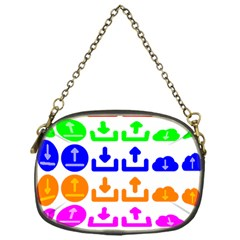 Download Upload Web Icon Internet Chain Purses (One Side)