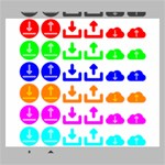 Download Upload Web Icon Internet Canvas 24  x 20  24  x 20  x 0.875  Stretched Canvas