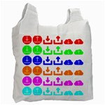 Download Upload Web Icon Internet Recycle Bag (One Side) Front