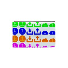 Download Upload Web Icon Internet Cosmetic Bag (Small)