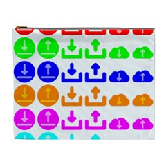 Download Upload Web Icon Internet Cosmetic Bag (XL)