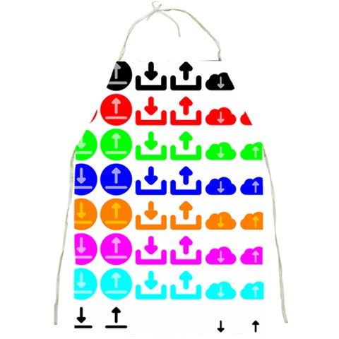 Download Upload Web Icon Internet Full Print Aprons