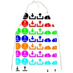 Download Upload Web Icon Internet Full Print Aprons Front