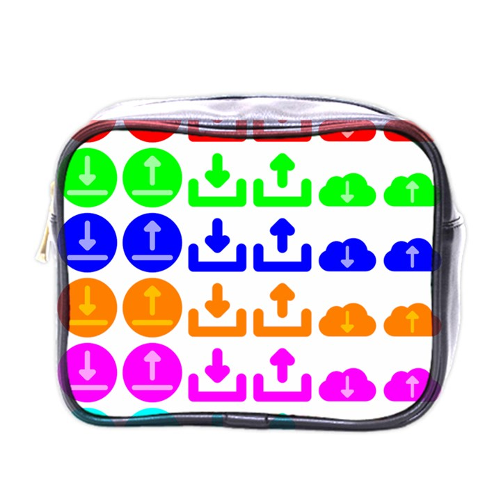 Download Upload Web Icon Internet Mini Toiletries Bags