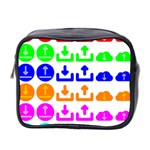 Download Upload Web Icon Internet Mini Toiletries Bag 2-Side Front