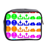 Download Upload Web Icon Internet Mini Toiletries Bag 2-Side Back