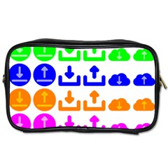 Download Upload Web Icon Internet Toiletries Bags 2-Side