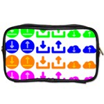 Download Upload Web Icon Internet Toiletries Bags 2-Side Front