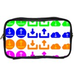 Download Upload Web Icon Internet Toiletries Bags 2-Side Back