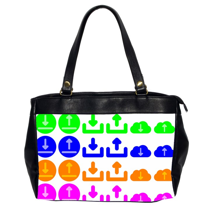 Download Upload Web Icon Internet Office Handbags (2 Sides)