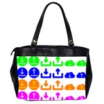 Download Upload Web Icon Internet Office Handbags (2 Sides)  Back