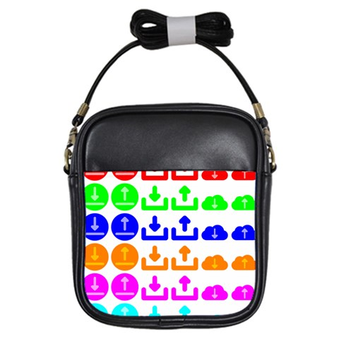 Download Upload Web Icon Internet Girls Sling Bags