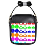 Download Upload Web Icon Internet Girls Sling Bags Front