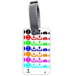 Download Upload Web Icon Internet Luggage Tags (One Side)  Front