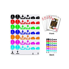Download Upload Web Icon Internet Playing Cards (Mini)