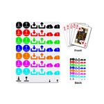 Download Upload Web Icon Internet Playing Cards (Mini)  Back