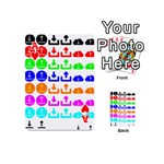 Download Upload Web Icon Internet Playing Cards 54 (Mini)  Front - HeartA