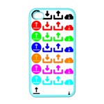 Download Upload Web Icon Internet Apple iPhone 4 Case (Color) Front