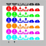 Download Upload Web Icon Internet Deluxe Canvas 24  x 20   24  x 20  x 1.5  Stretched Canvas