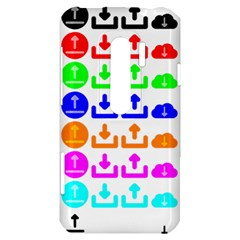 Download Upload Web Icon Internet HTC Evo 3D Hardshell Case