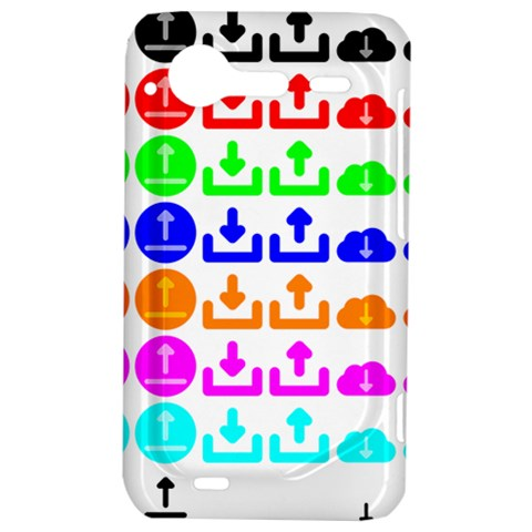 Download Upload Web Icon Internet HTC Incredible S Hardshell Case