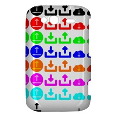 Download Upload Web Icon Internet HTC Wildfire S A510e Hardshell Case