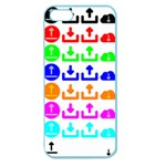 Download Upload Web Icon Internet Apple Seamless iPhone 5 Case (Color) Front
