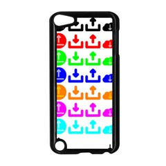 Download Upload Web Icon Internet Apple iPod Touch 5 Case (Black)