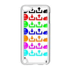 Download Upload Web Icon Internet Apple iPod Touch 5 Case (White)