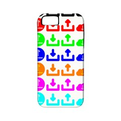 Download Upload Web Icon Internet Apple iPhone 5 Classic Hardshell Case (PC+Silicone)