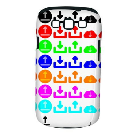 Download Upload Web Icon Internet Samsung Galaxy S III Classic Hardshell Case (PC+Silicone)