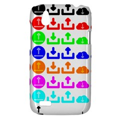 Download Upload Web Icon Internet HTC Desire V (T328W) Hardshell Case
