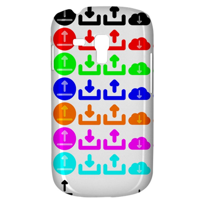Download Upload Web Icon Internet Samsung Galaxy S3 MINI I8190 Hardshell Case