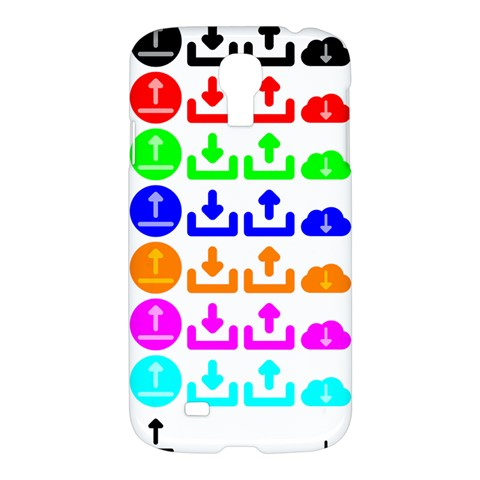 Download Upload Web Icon Internet Samsung Galaxy S4 I9500/I9505 Hardshell Case