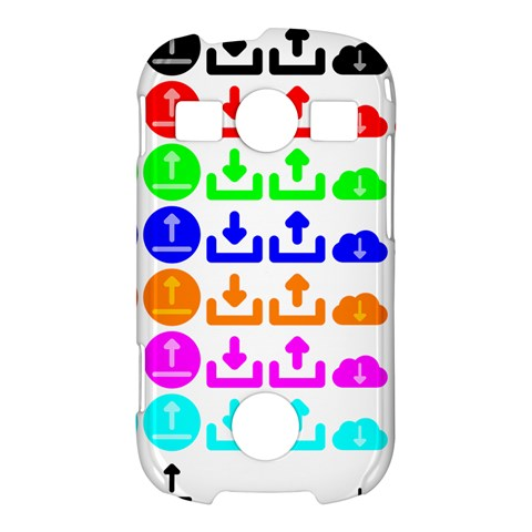 Download Upload Web Icon Internet Samsung Galaxy S7710 Xcover 2 Hardshell Case
