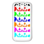 Download Upload Web Icon Internet Samsung Galaxy S3 Back Case (White) Front