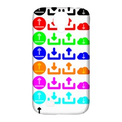 Download Upload Web Icon Internet Samsung Galaxy S4 Classic Hardshell Case (PC+Silicone)