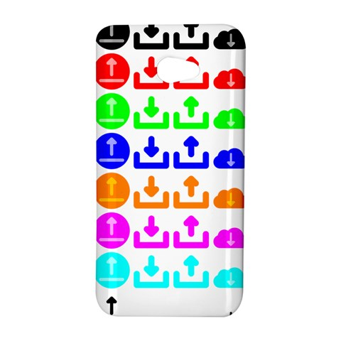 Download Upload Web Icon Internet HTC Butterfly S/HTC 9060 Hardshell Case