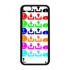 Download Upload Web Icon Internet Apple iPhone 5C Seamless Case (Black)