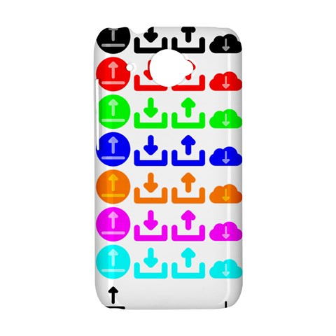 Download Upload Web Icon Internet HTC Desire 601 Hardshell Case