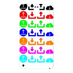 Download Upload Web Icon Internet Samsung Galaxy Note 3 N9005 Hardshell Back Case Front