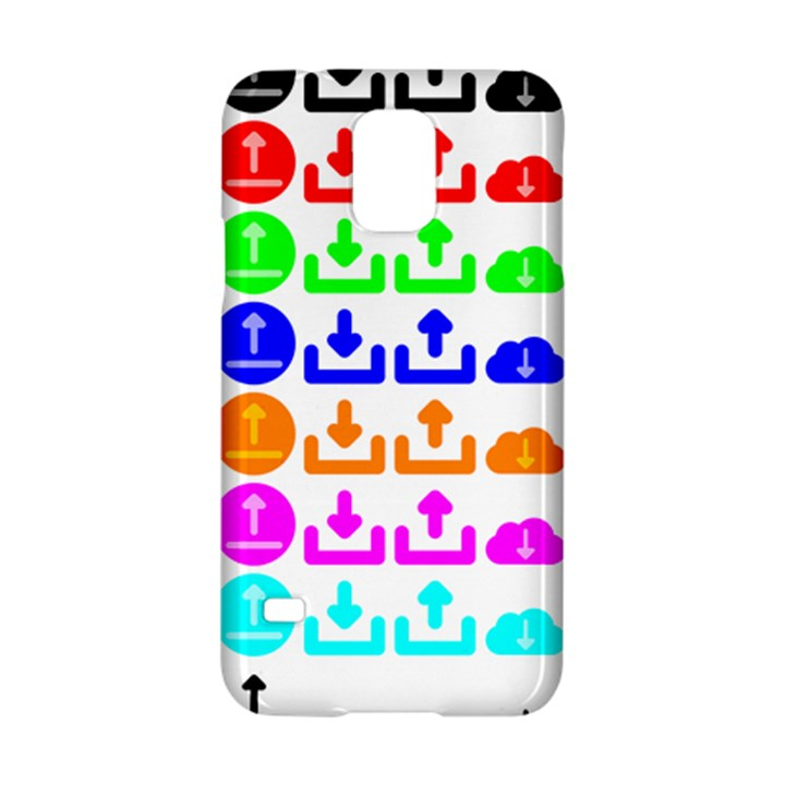 Download Upload Web Icon Internet Samsung Galaxy S5 Hardshell Case