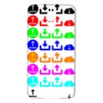 Download Upload Web Icon Internet Samsung Galaxy S5 Back Case (White) Front