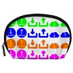 Download Upload Web Icon Internet Accessory Pouches (Large)  Front