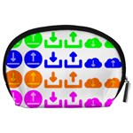 Download Upload Web Icon Internet Accessory Pouches (Large)  Back